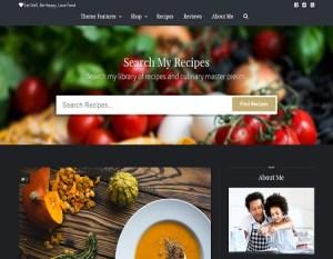 crear un blog de cocina