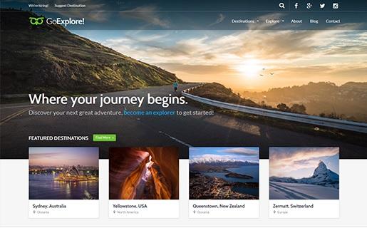 como crear un blog de viajes
