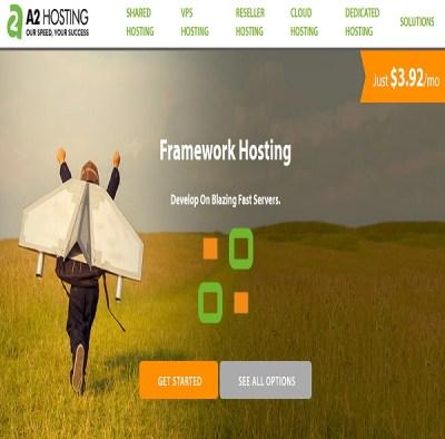 hosting para desarrollo framework