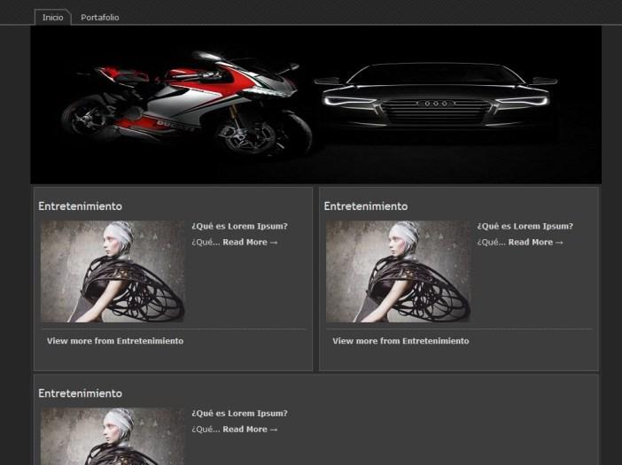 Tema Wordpress Para Autos y Motocicletas » webtralia.com