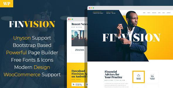 Temas Wordpress Para Auditorías Financieras - Finvision » webtralia.com