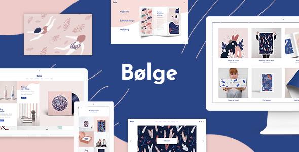 Bolge - Plantilla Wordpress Para Portafolio Creativo Multi ...