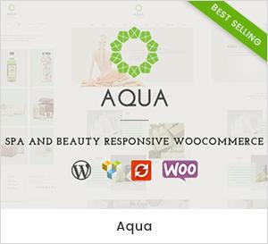 Tema de WordPress WooCommerce Responsive para Spa y Belleza