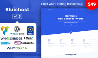 PLANTILLAS WORDPRESS WEB HOSTING