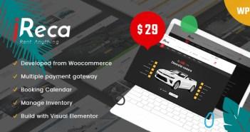 plantillas wordpress coches alquiler carros