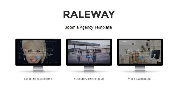 Raleway - Tema multiusos de arrastrar y soltar sensible con Framework - Joomla CMS Themes