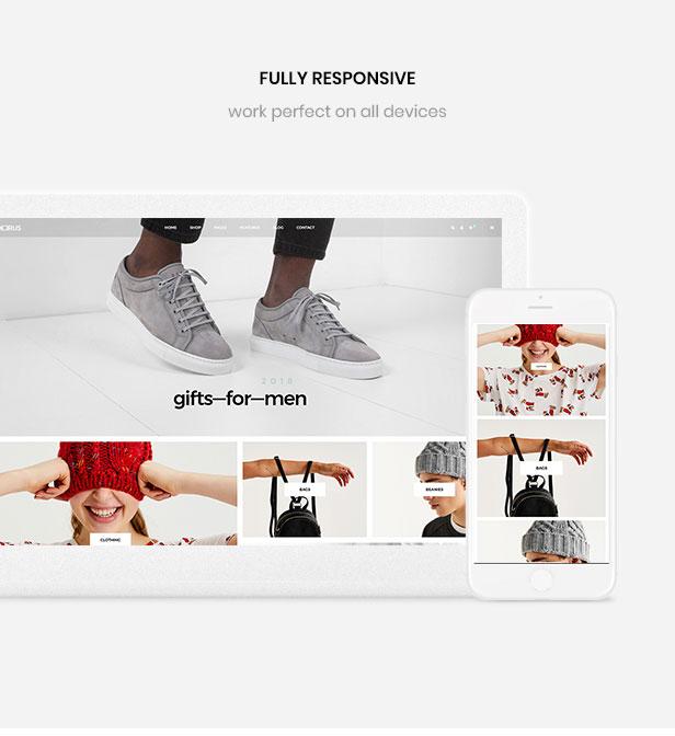 página de inicio de diseño múltiple