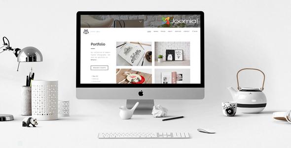 Bushwick: tema de una página de Helix Ultimate Joomla con Page Builder - Creative Joomla