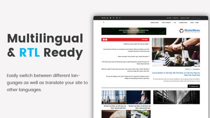 Sj MarketNews - Plantilla Joomla Responsive Financial & Business News