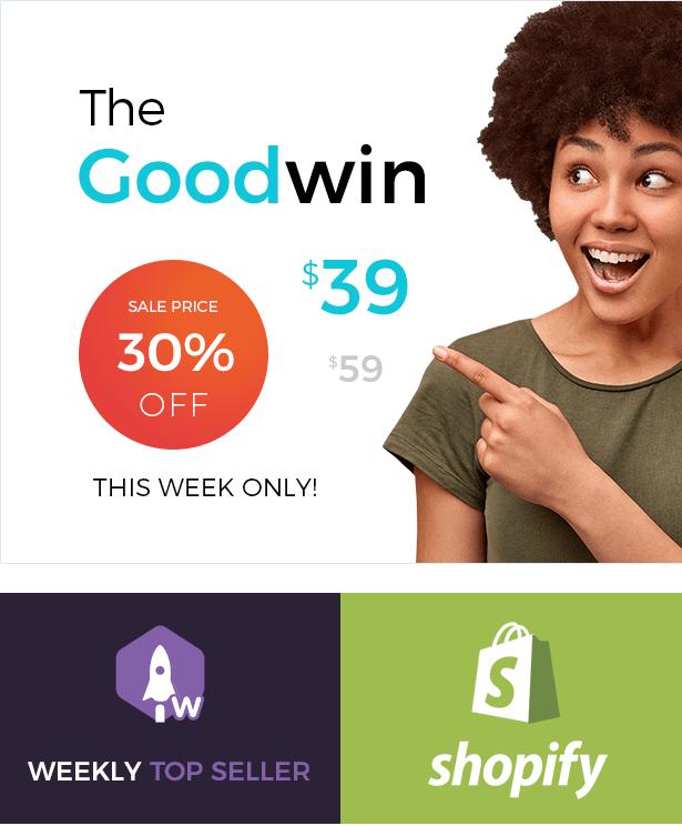 Goodwin - Tema Shopify