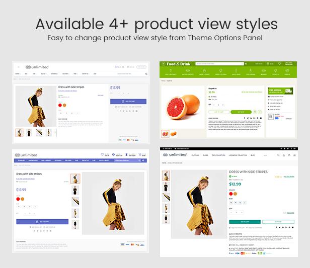Infinit - Magento 2 y 1.9 Estilos de visualización de productos