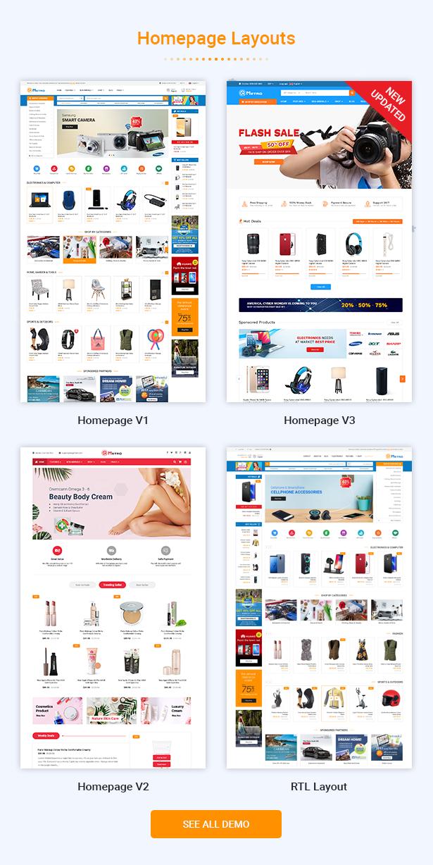 Metro - Tema PrestaShop 1.7 sensible de MarketPlace sensible - 2