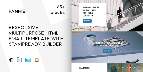 Merry - Responsive Email + StampReady Builder & Mailchimp - 1