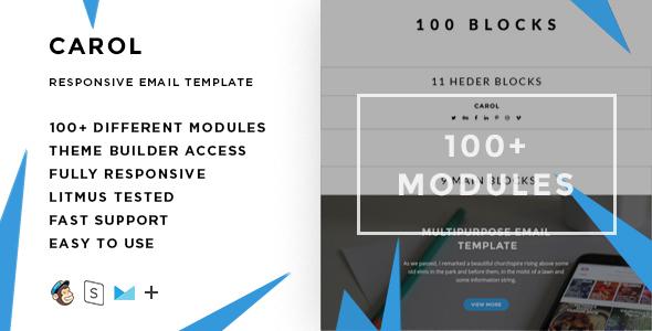 Verna - Responsive Email + StampReady Builder - 3