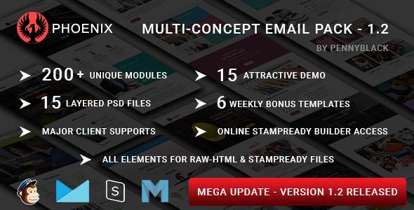 Valentine - Plantilla de correo electrónico sensible con los fabricantes de Stampready y Mailchimp en línea - 1