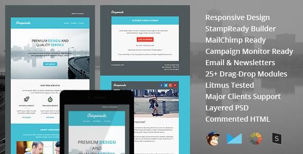 Valentine - Plantilla de correo electrónico responsivo con fabricantes de Stampready y Mailchimp en línea - 4