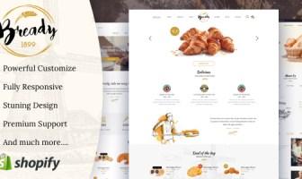 Bready - tema de la panadería Shopify