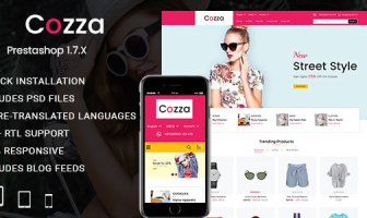 Cozza - Fashion Prestashop 1.7 Responsive Theme