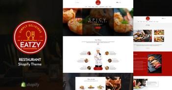 Eatzy | Restaurante seccionado tema Shopify