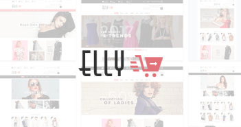 Elly - Fashion Shop tema de comercio electrónico