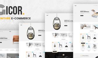 Gicor - Tema OpenCart para muebles (Muestras de color incluidas)