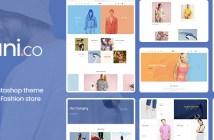 Leo Uni Co - Moda Unisex y Accesorios Prestashop 1.7.4.x Tema