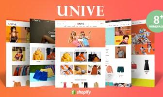 Unive - Tema de Shopify multipropósito