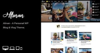 tema wordpress blog personal