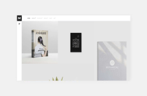 Murbani - Tema de WordPress para una cartera mínima