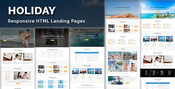 Inicio - Página de inicio de HTML sensible - 4