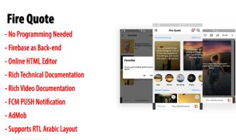 Cita de fuego | Aplicación nativa de cotización y estado de Android con back-end de Firebase