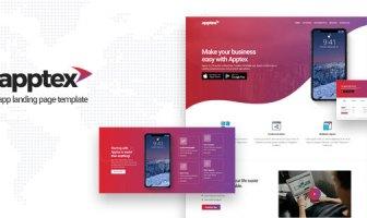 Apptex | Plantilla de la página de destino de la aplicación