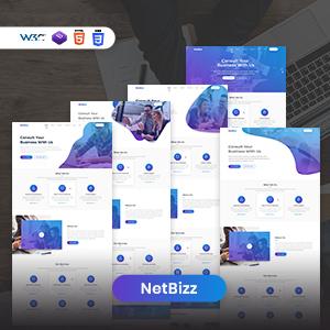 Netbizz - Plantillas HTML empresariales y de usos múltiples.
