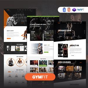 GYM FIT- Plantilla Responsive HTML5 de Gym & Fitness
