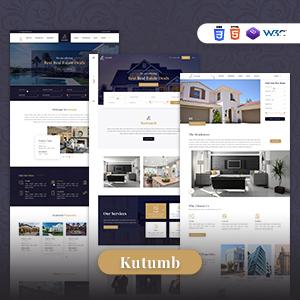 Kutumb - Plantilla de HTML Responsive Real Estate