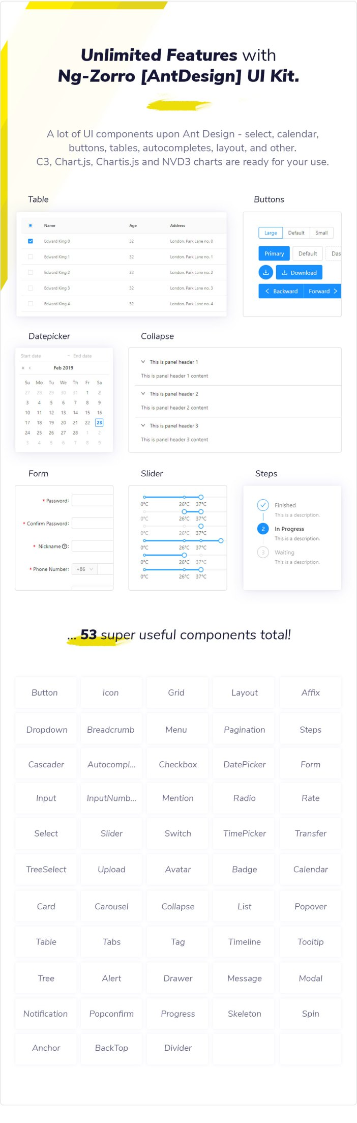 Clean UI Angular Pro - Angular NgRx Admin Template + Html Version - 9