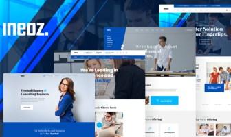 Ineoz - Plantilla HTML de consultoría de negocios