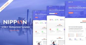 Nippon - Plantilla HTML5 multipropósito