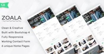 Zoala - Plantilla HTML5 de una página