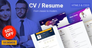 CV empresarial - CV en línea de CV y portafolio personal