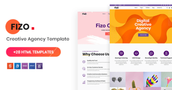 Fizo - Plantilla HTML5 multipropósito creativo
