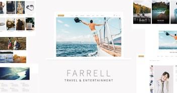 Farrell - Plantilla HTML de turismo y entretenimiento