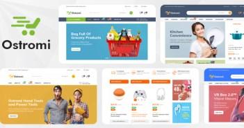Ostromi - Plantilla multiusos de eCommerce Bootstrap 4