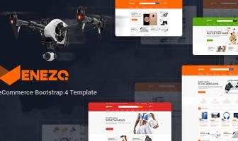 Venezo - Plantilla eCommerce Bootstrap 4