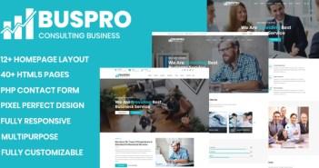 Buspro - Plantilla empresarial y corporativa de usos múltiples