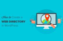 Cómo crear un directorio web en WordPress