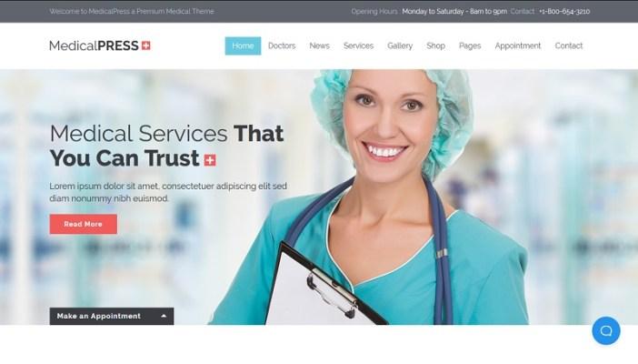 temas wordpress para clinicas