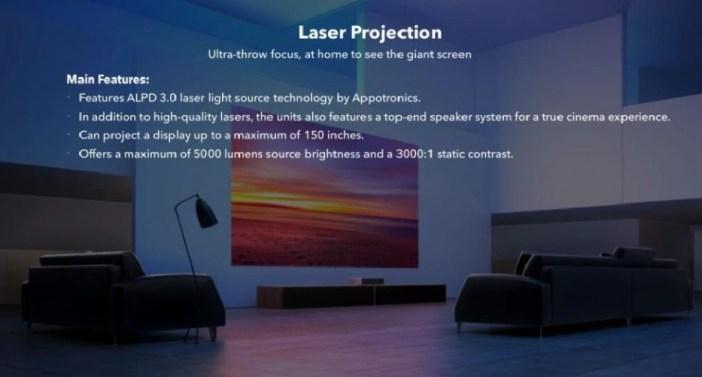 proyectores laser modelos