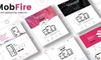 Mobfire | Creative HTML5 App Landing Page