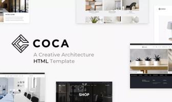 COCA - Plantilla HTML de Arquitectura e Interior